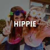 Catalogo dei costumi Hippie per ragazzi, ragazze, uomini e donne