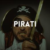Catalogo dei costumi pirati per ragazzi, ragazze, uomini e donne