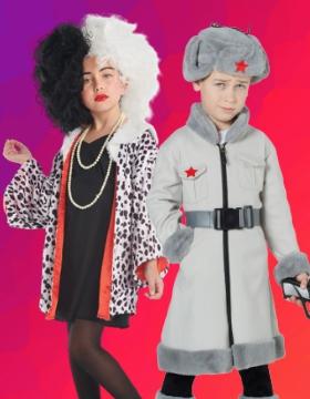 Idee per mascherare gli bambini con costumi di carnevale originali