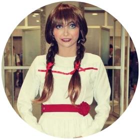Negozio online di costumi bambola Annabelle