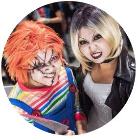 Negozio online di costumi Chucky, la bambola assassina