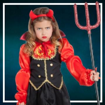 Acquista online i costumi di Halloween diavoletta per bambina