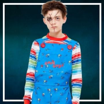 Acquista online i costumi di Halloween Chucky per bambini