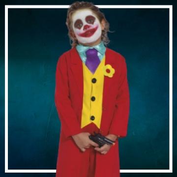 Acquista online i costumi di Halloween Joker per bambini