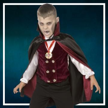 Acquista online i costumi di Halloween vampiro per bambini
