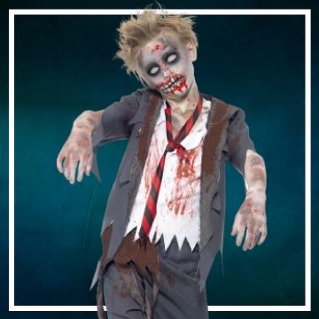 Acquista online i costumi di Halloween zombie per bambini