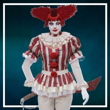 Negozio online di costumi di Halloween da pagliacci malvagi