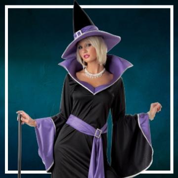 Negozio online di costumi di Halloween da strega