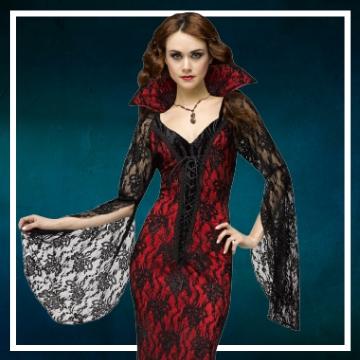 Negozio online di costumi di Halloween da vampira