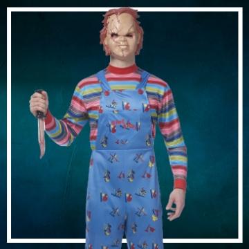 Negozio online di costumi di Halloween da Chucky