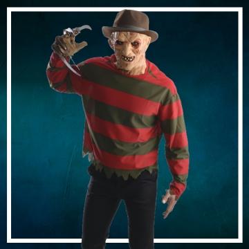 Negozio online di costumi di Halloween da Freddy Krueger
