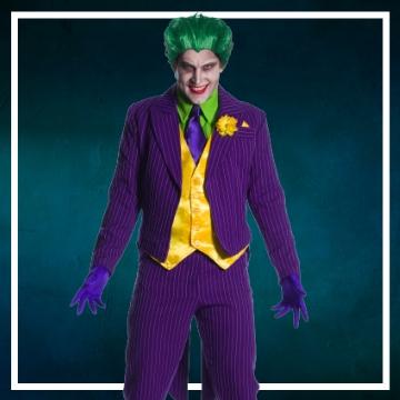 Negozio online di costumi di Halloween da Joker