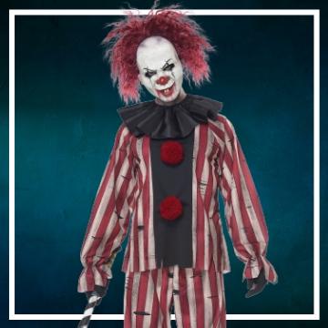 Negozio online di costumi di Halloween da pagliacci assassini