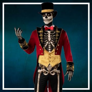 Negozio online di costumi di Halloween da scheletro