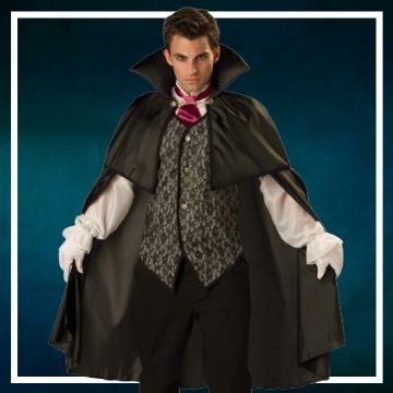 Negozio online di costumi di Halloween da vampiro