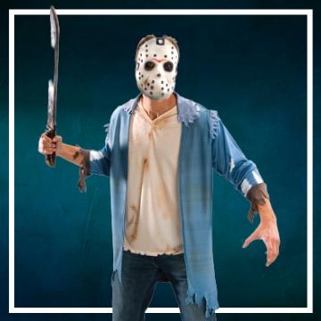 Negozio online di costumi di Halloween da Venerdì 13