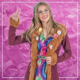 Acquista online i costumi più originali dei Hippie per donna