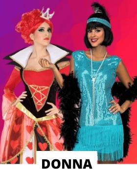 Idee per mascherare gli adulti con costumi di carnevale originali donna