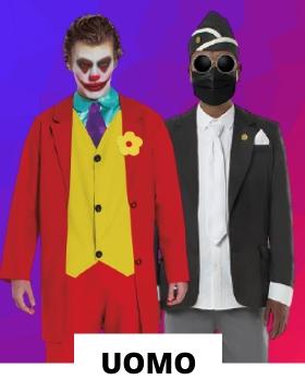 Idee per mascherare gli adulti con costumi di carnevale originali uomo