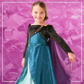 Acquista online i costumi più originali dei Principesse Frozen per bambina