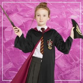 Acquista online i costumi più originali da Harry Potter per bambina