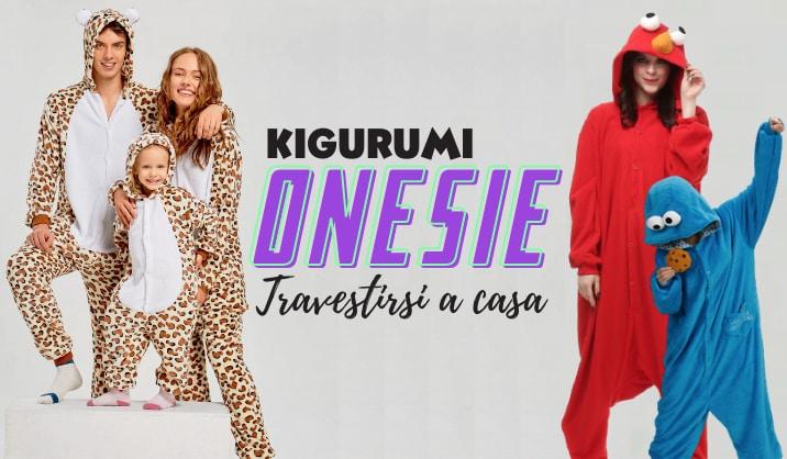 Costume Kigurumi per uomini, donne e bambini
