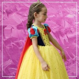 Acquista online i costumi più originali dei Principesse Disney per bambina