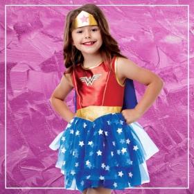 Acquista online i costumi più originali dei supereroine per bambina