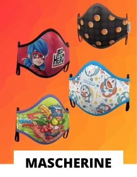 Mascherine per bambini in tessuto riutilizzabile e lavabile