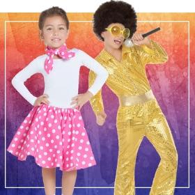 Compra online i più originali costumi anni 70 per lo spettacolo della scuola