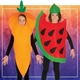 Compra online i più originali costumi frutti per lo spettacolo della scuola