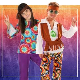 Compra online i più originali costumi hippies per lo spettacolo della scuola