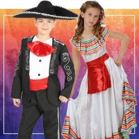 Compra online i più originali costumi messicani per lo spettacolo della scuola