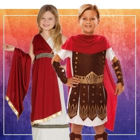 Compra online i più originali costumi romani per lo spettacolo della scuola