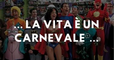Costumi Carnevale per per donna, uomo e bambini