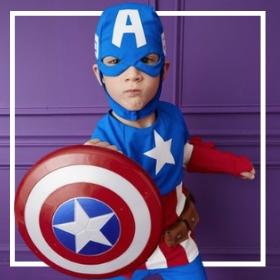 Acquista online i più originali costumi da supereroe per bambini
